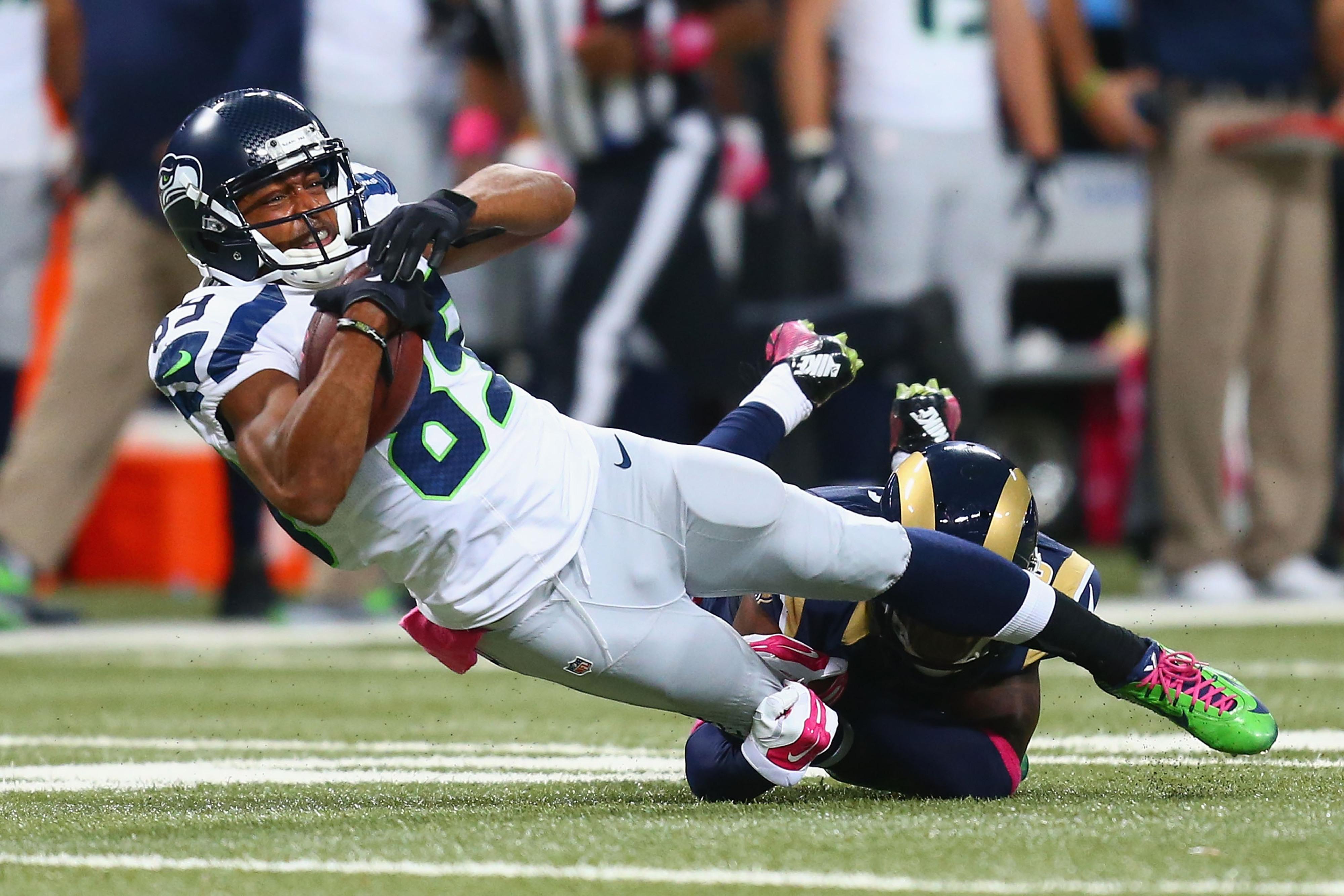Doug Baldwin blames Percy Harvin trade for Seahawks slow start vs. Rams
