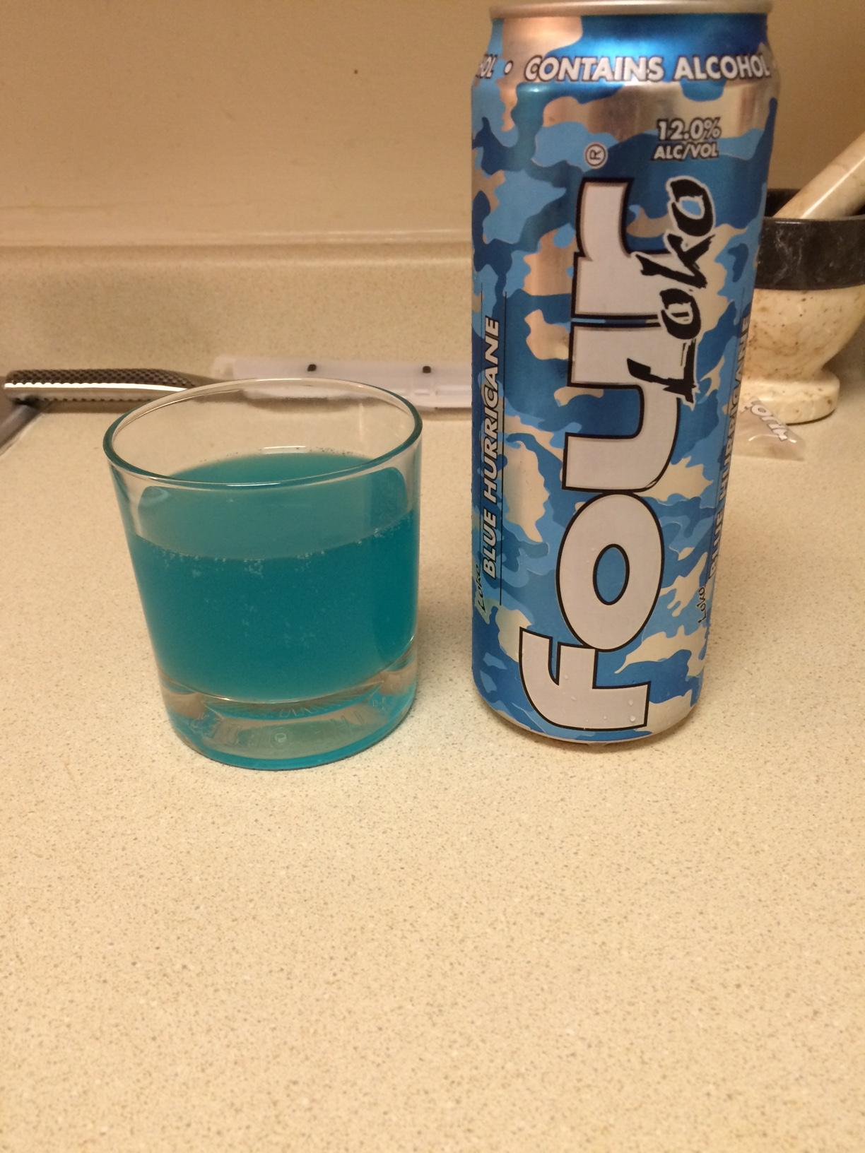 Please note the mortal and pestle in back, a key to properly infusing your Four Loko.