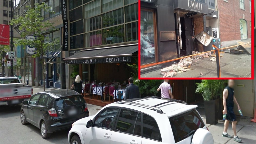 Cavalli before and after the damage