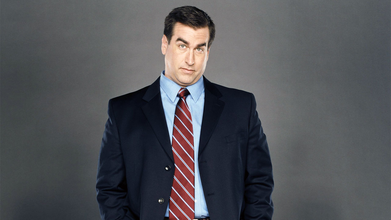 Comedian Rob Riggle is Frank West in the Dead Rising movie