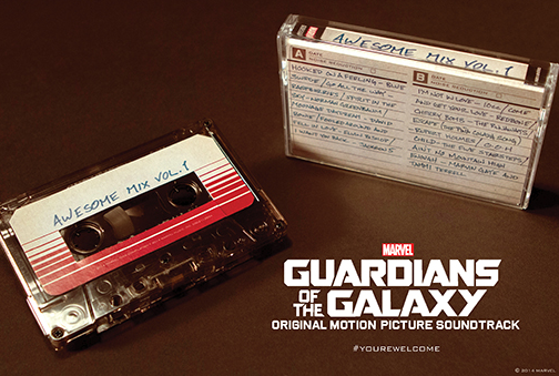Guardians of the Galaxy's 'Awesome Mix Vol. 1' to get official release on cassette