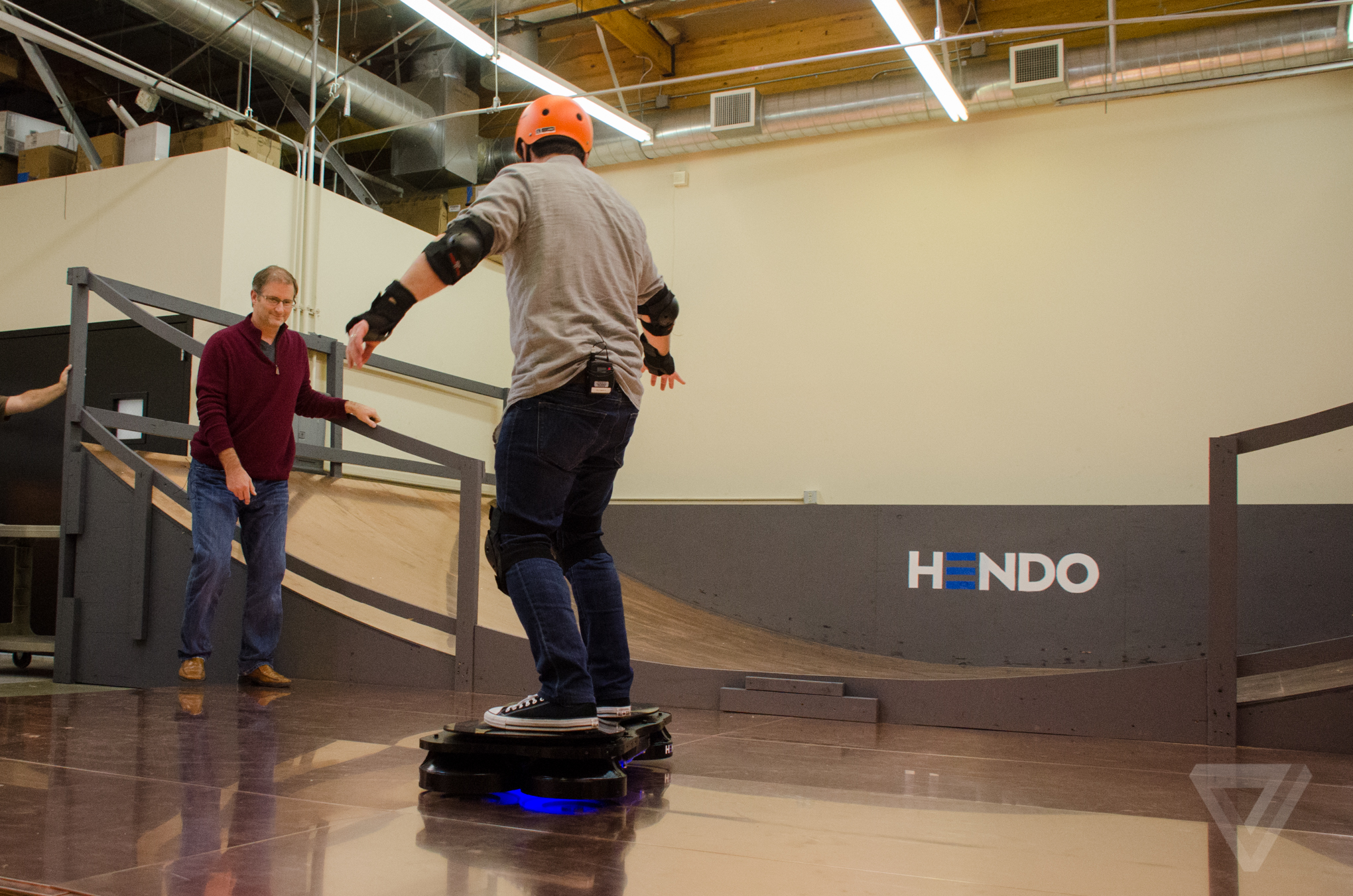 Here's what it's like to ride a real-life hoverboard