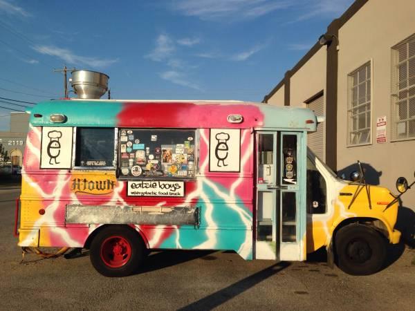 Eatsie Boys' Original Food Truck