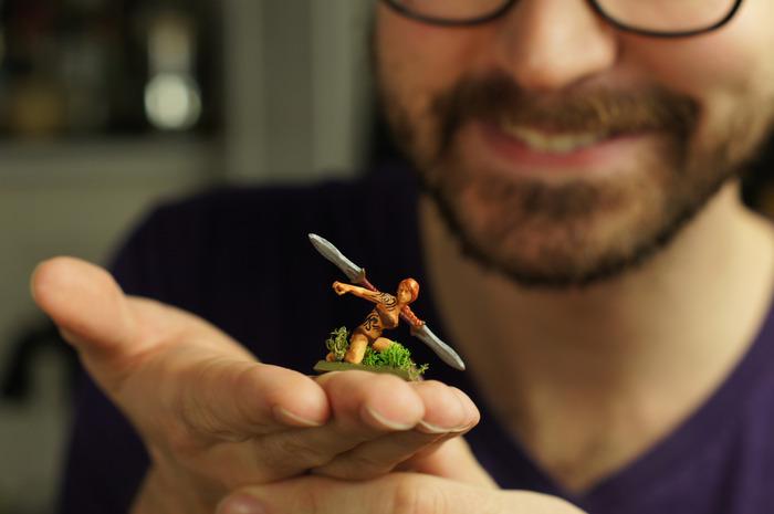 Games industry veterans bring custom, 3D printed minis to life