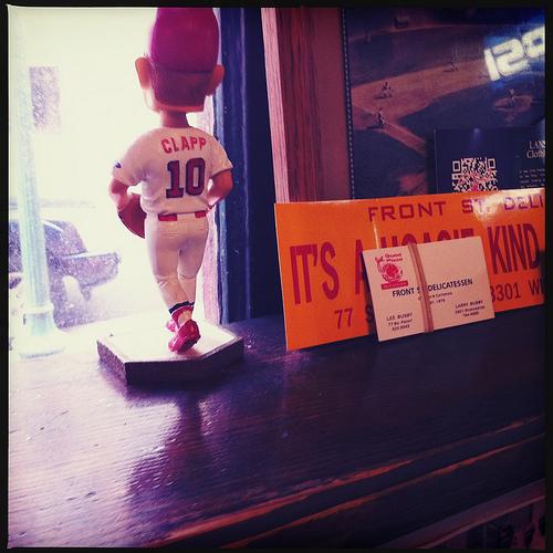 Memphis hero (and bobblehead) Stubby Clapp