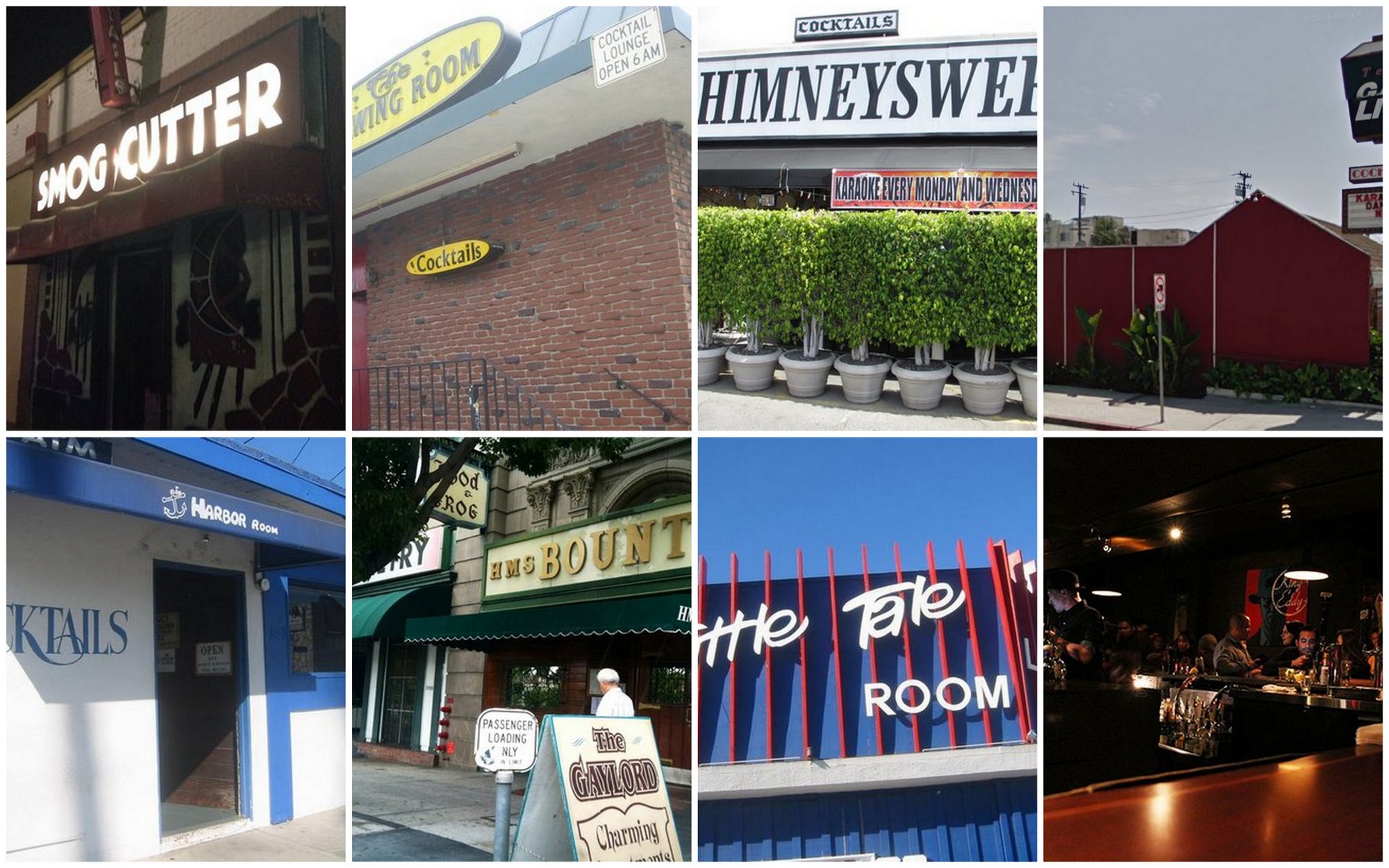 A Handy Collection of Iconic Dive Bars in Los Angeles