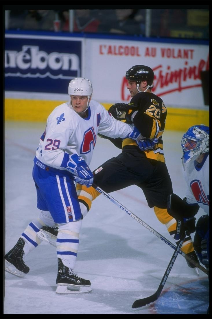 One-time Nordiques' captain, Steven Finn