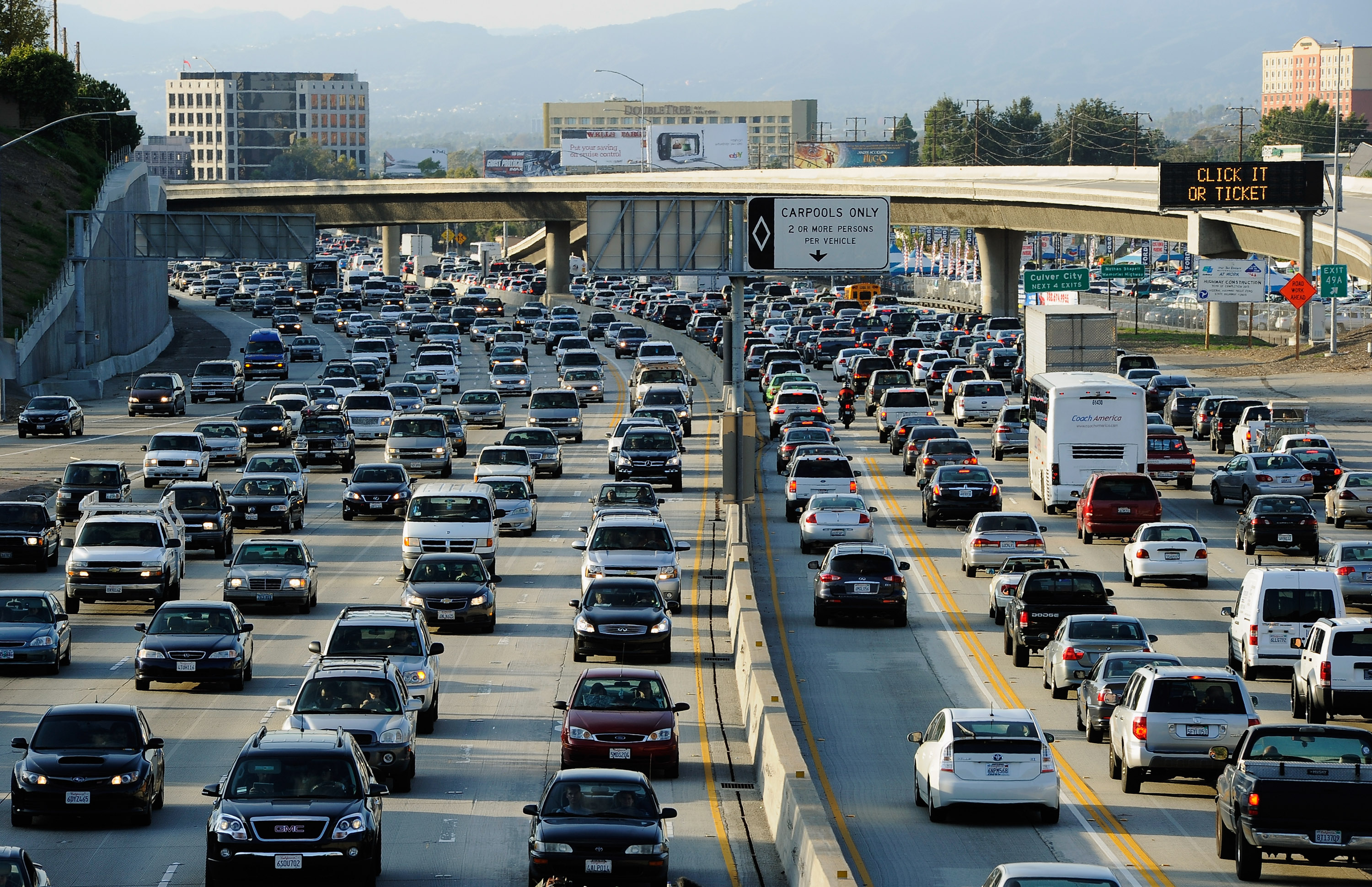 """The """"fundamental rule"""" of traffic: building new roads just makes people drive more"""