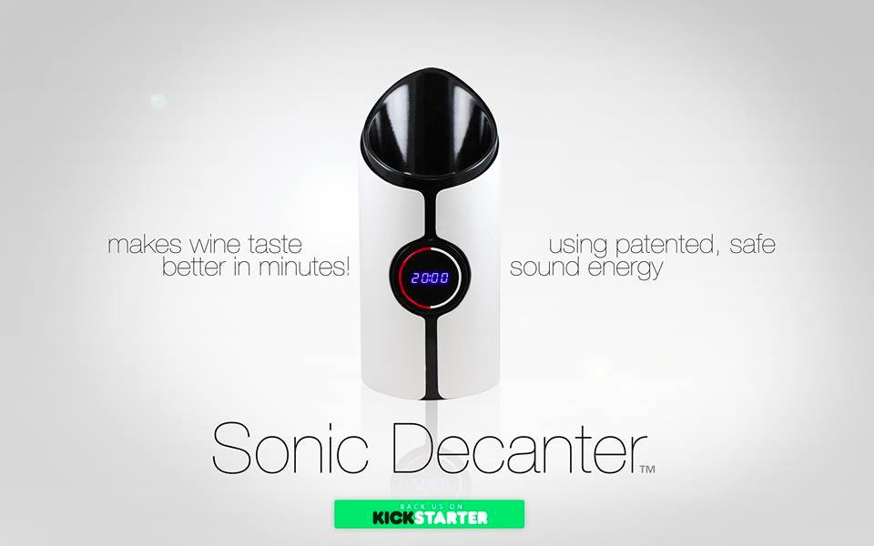 This App Claims It Can Decant Your Wine Using Sound Waves