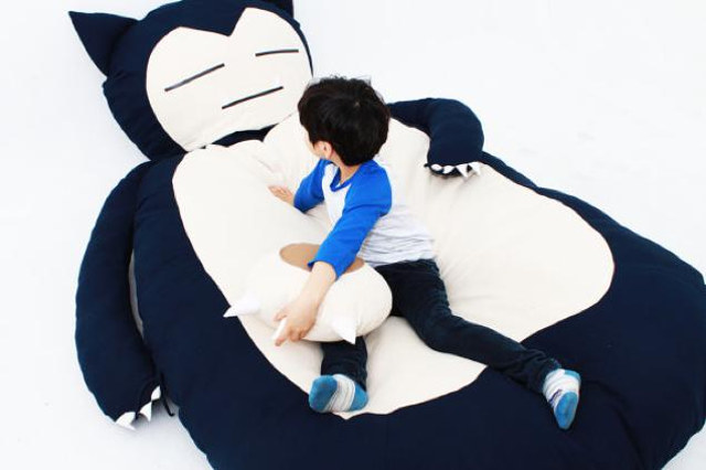 Your Pokémon dreams of sleeping on a Snorlax can be real