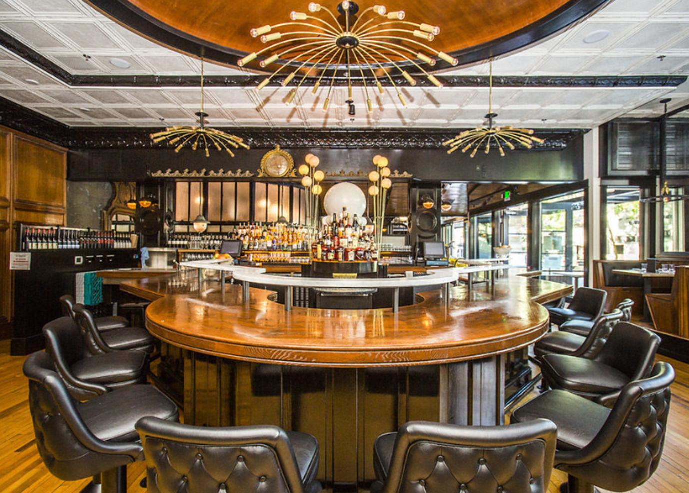 The bar at Stoneburner
