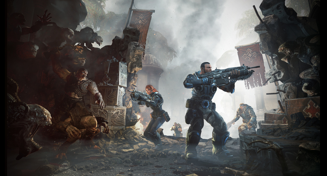 New Gears of War is getting back to basics