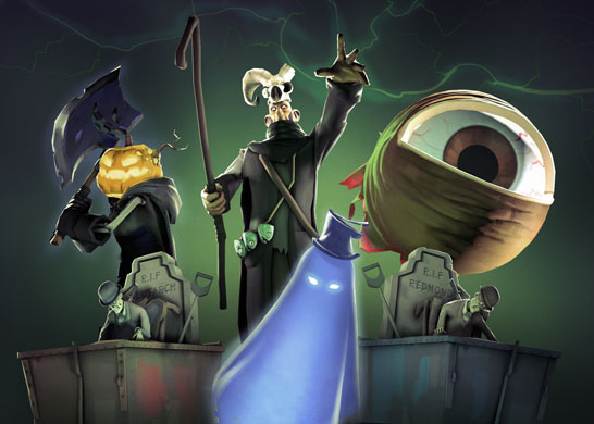 Halloween maps return to Team Fortress 2