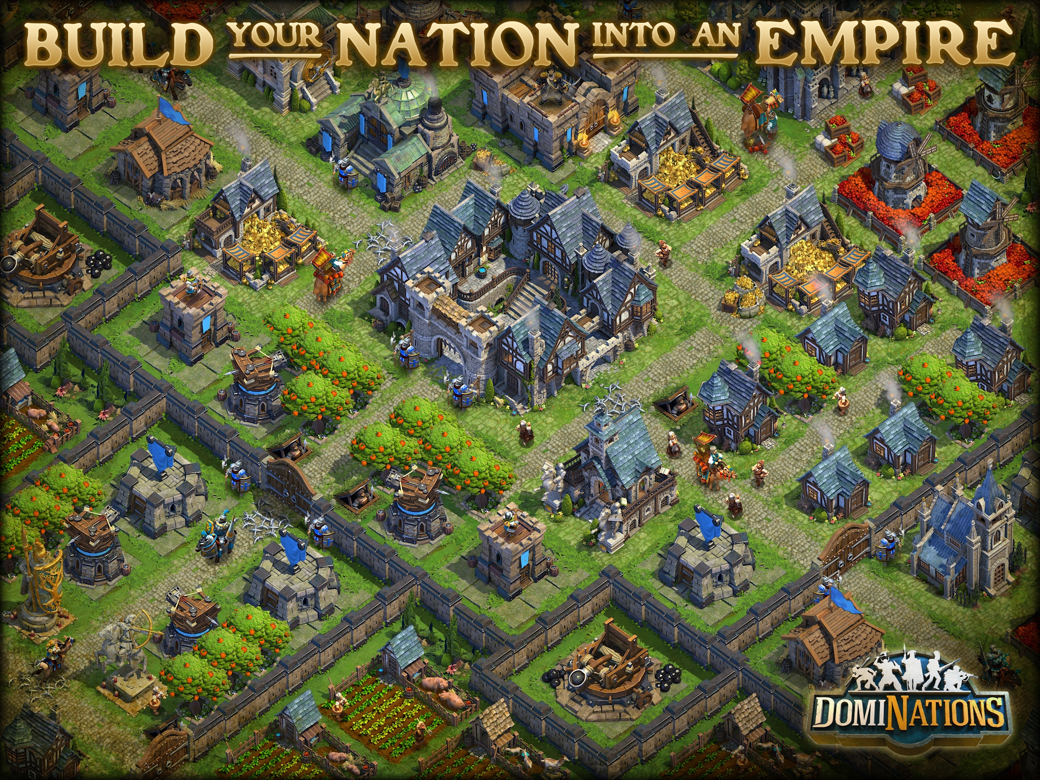 Rise of Nations dev returns from the dead with new strategy game DomiNations