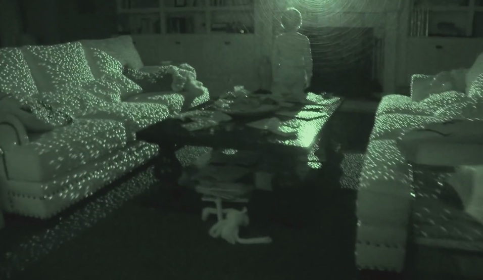 Ghosts in the machine? Using the Kinect to hunt for spirits