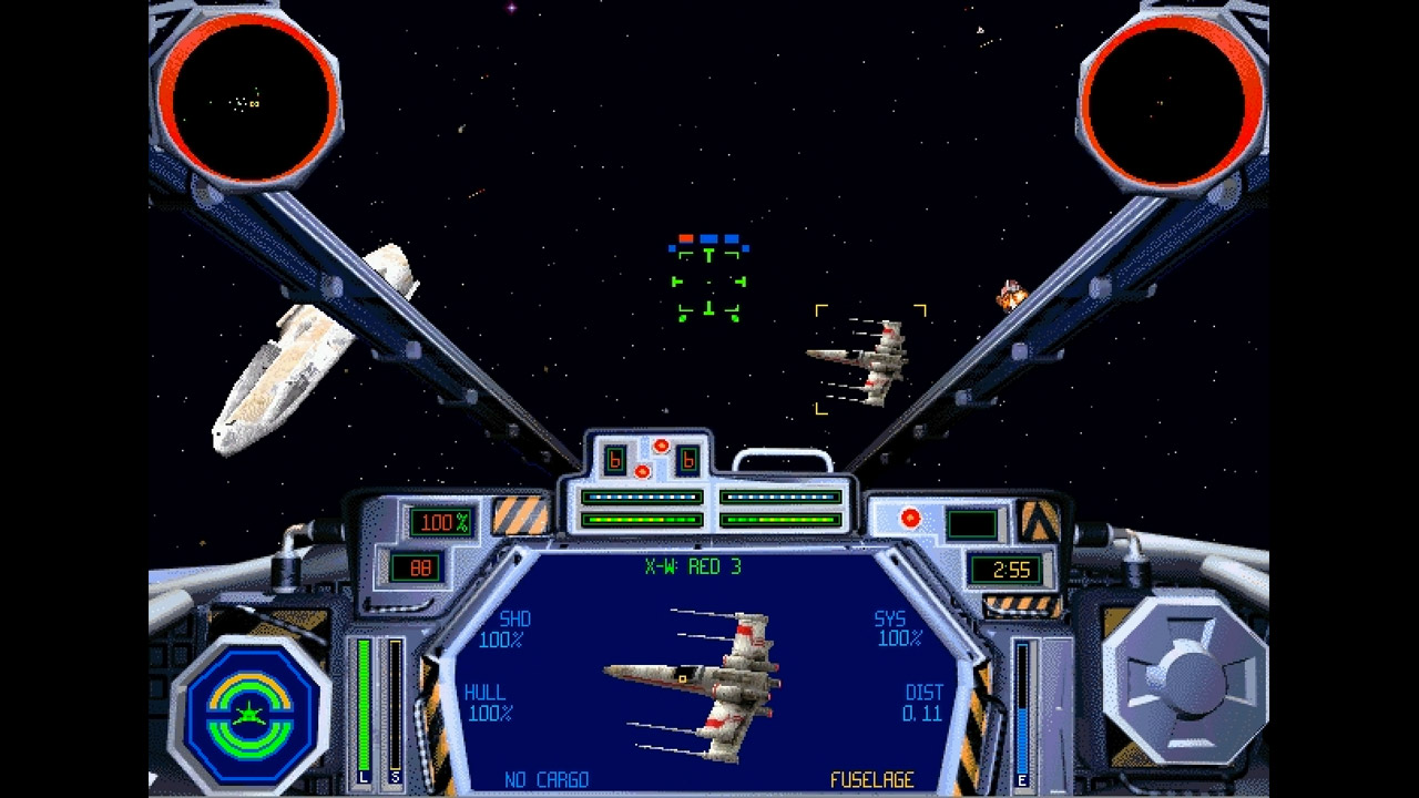 Classic Star Wars X-Wing and TIE Fighter games are getting digital re-releases