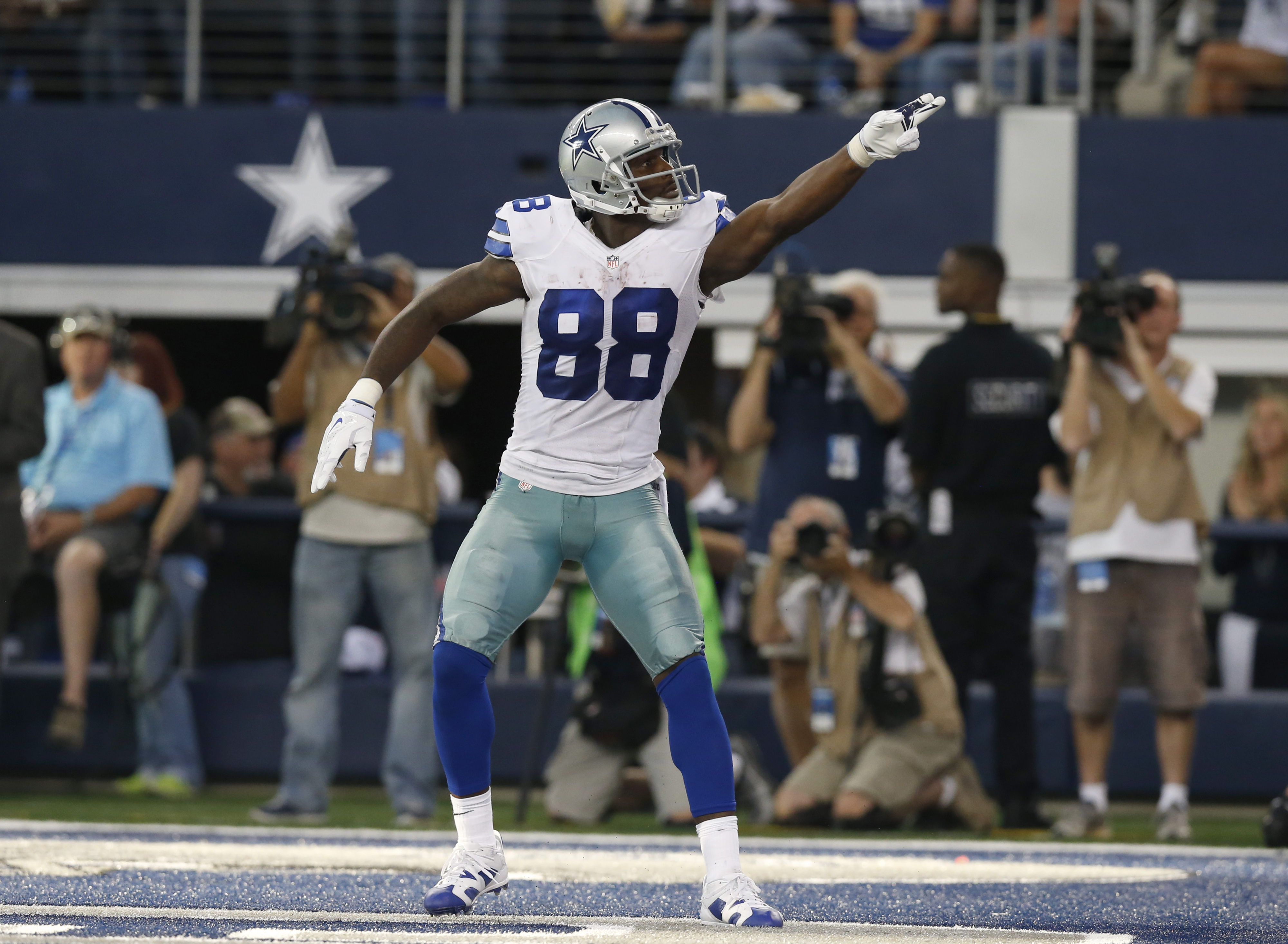 It may be all Dez all night for the Cowboys tonight against division rival Washington