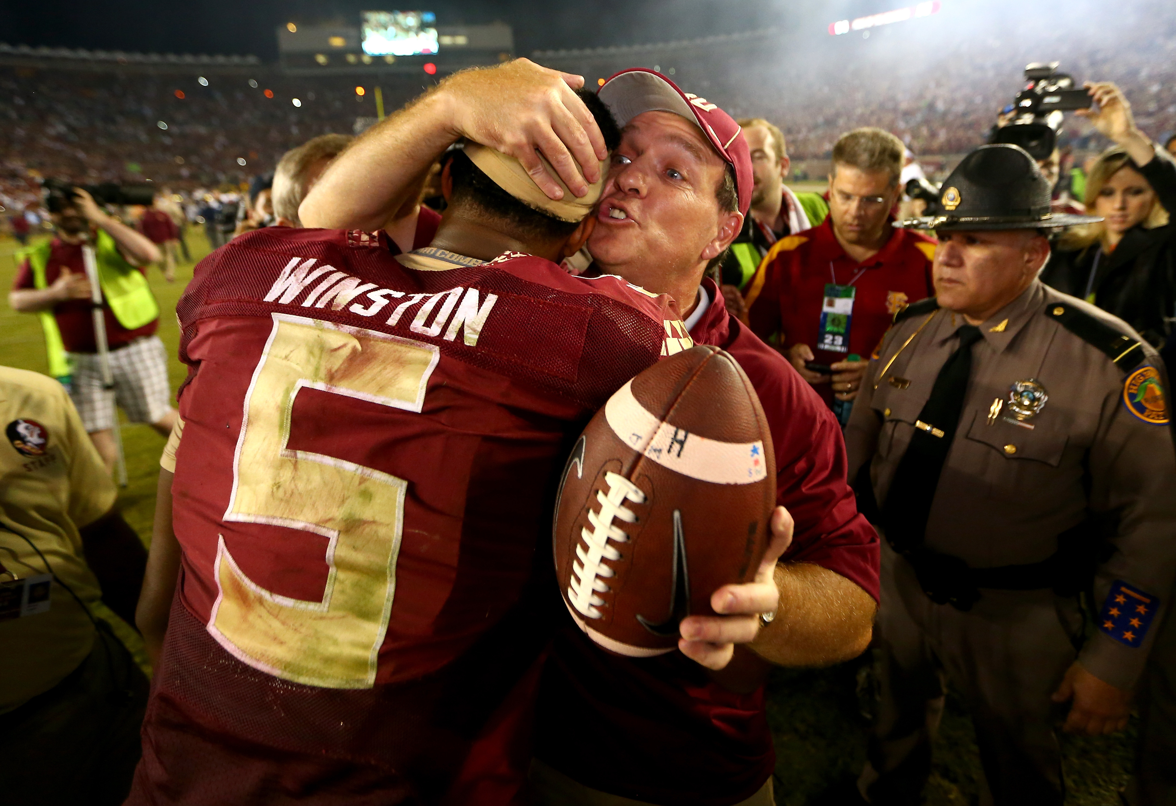 Jimbo Fisher's defense of Jameis Winston is apparently a recruiting advantage