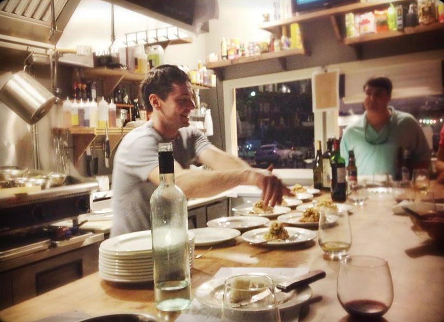 Chef/Owner Ross Webb