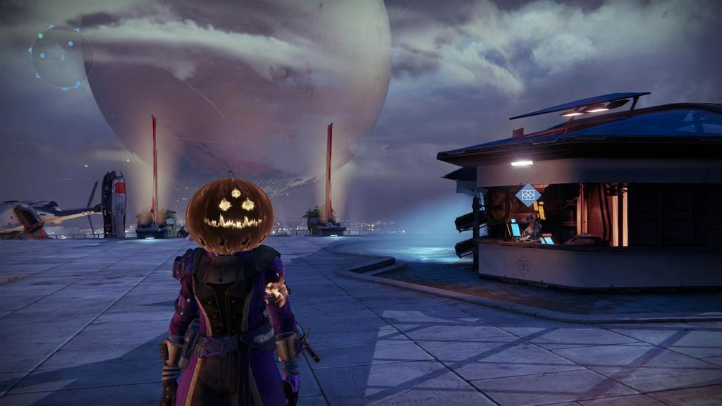 Destiny gets into the Halloween spirit with holiday-themed items