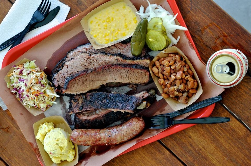 Barbecue selection at Killen's Barbecue in Pearland.