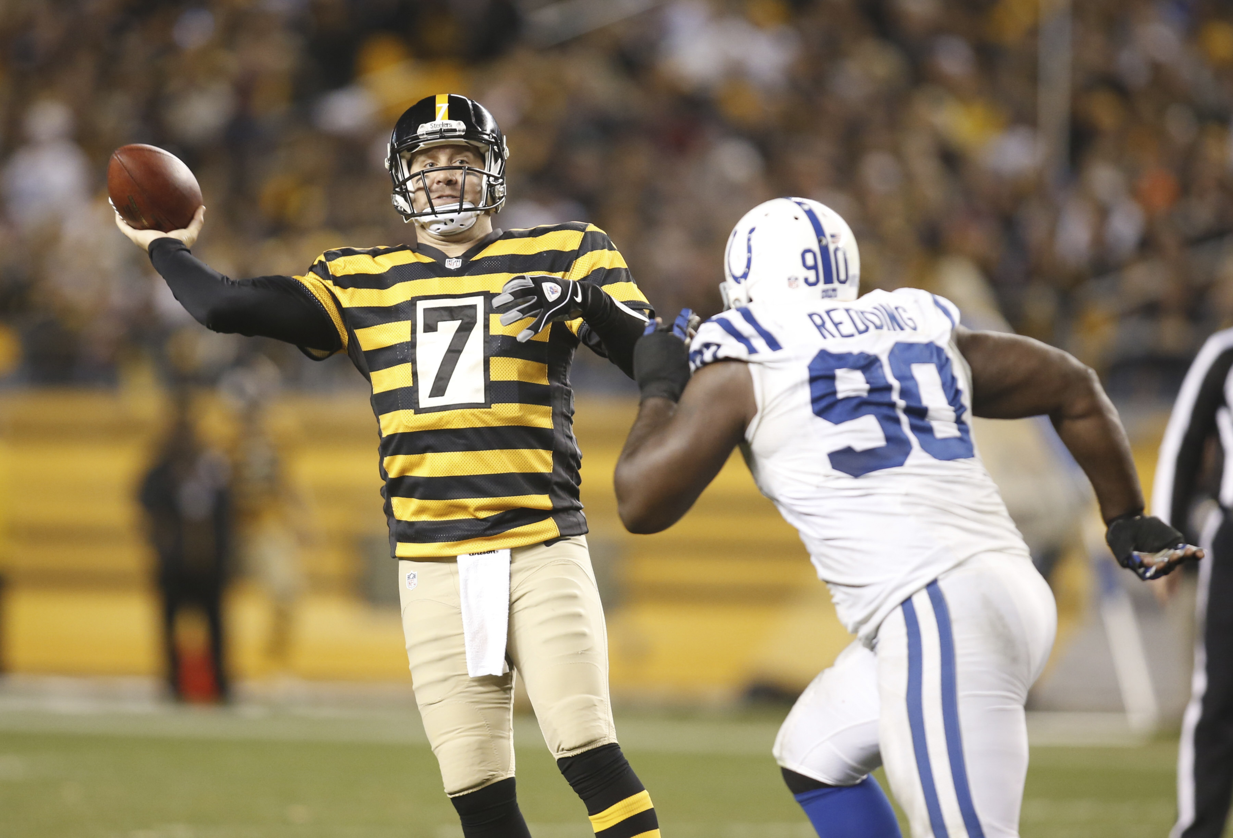 Ben Roethlisberger was at his best vs. the Colts