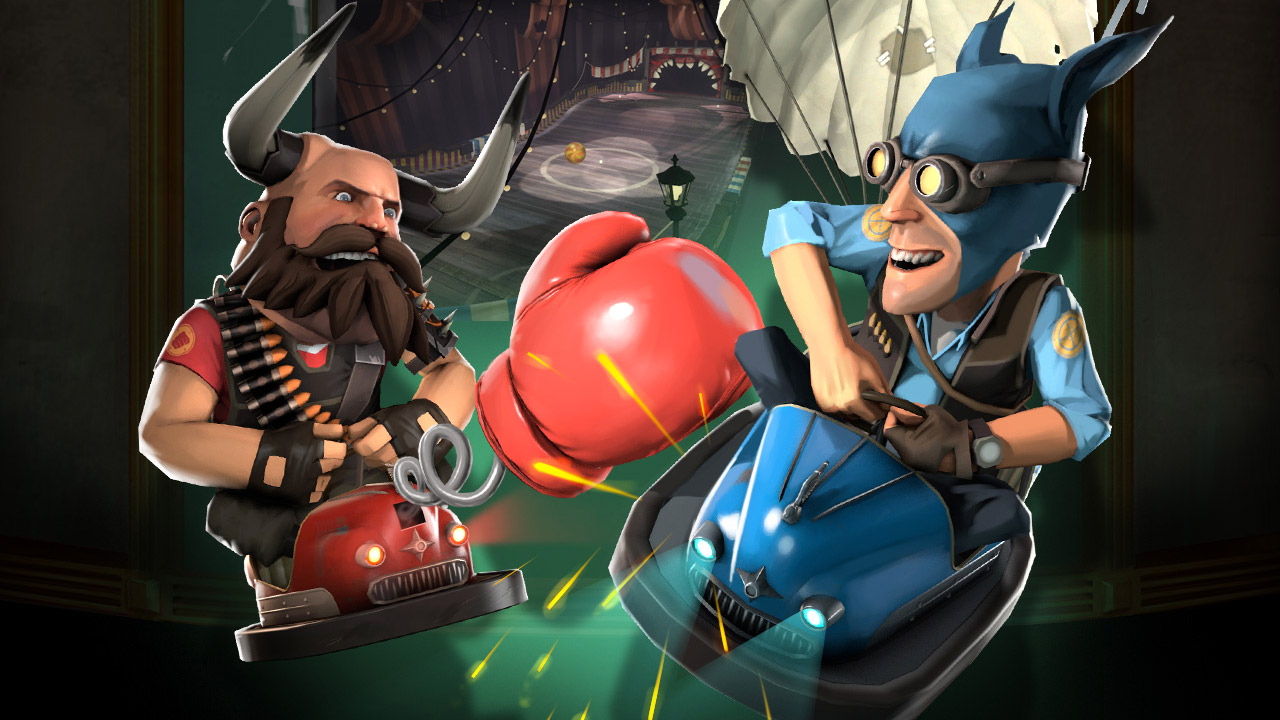 Team Fortress 2's annual Halloween event kicks off with curses, spells, bumper cars