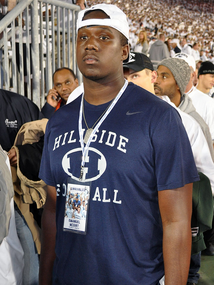 2015 Four star offensive tackle, Emanuel McGirt