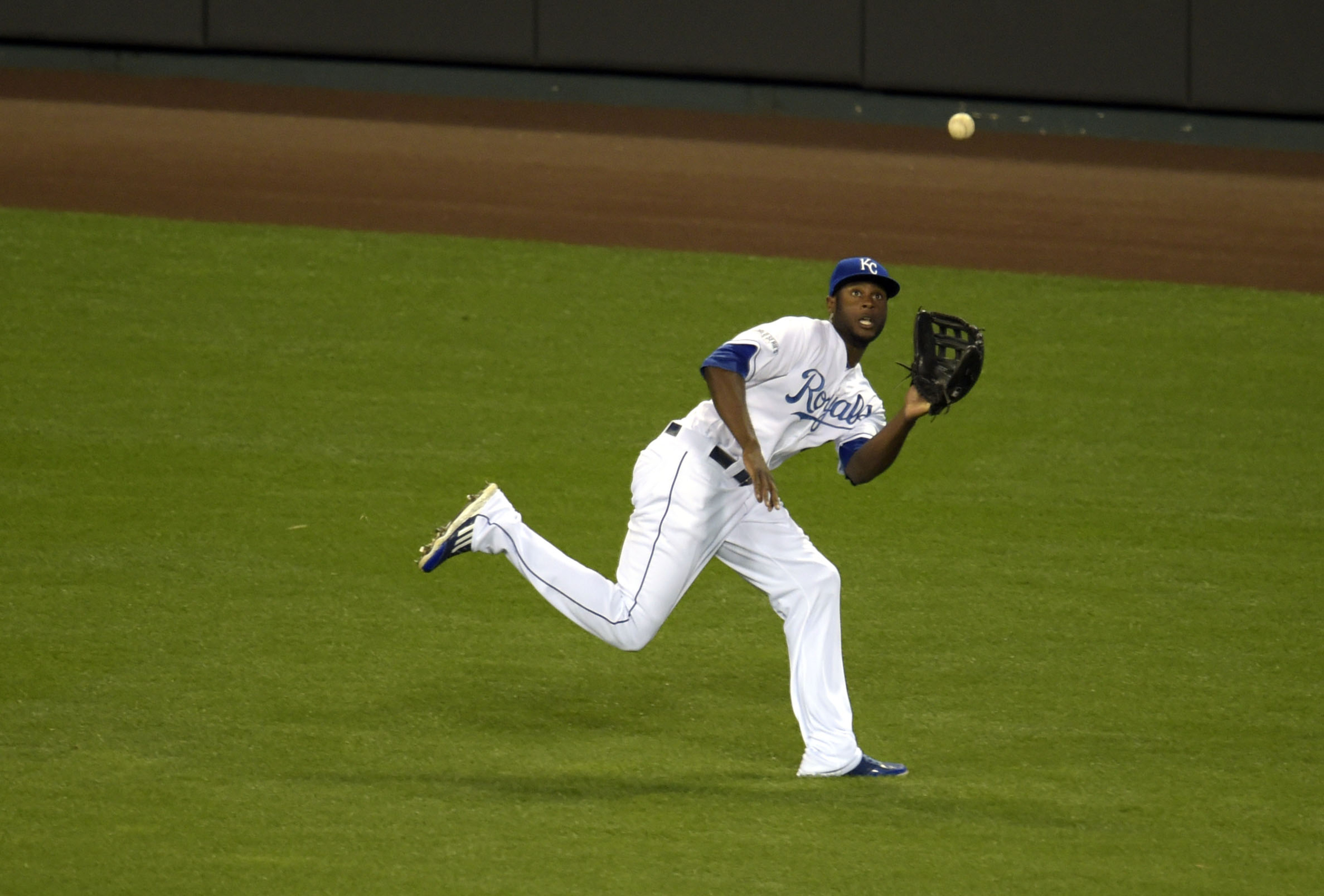 They made up a fielding award for Lorenzo Cain
