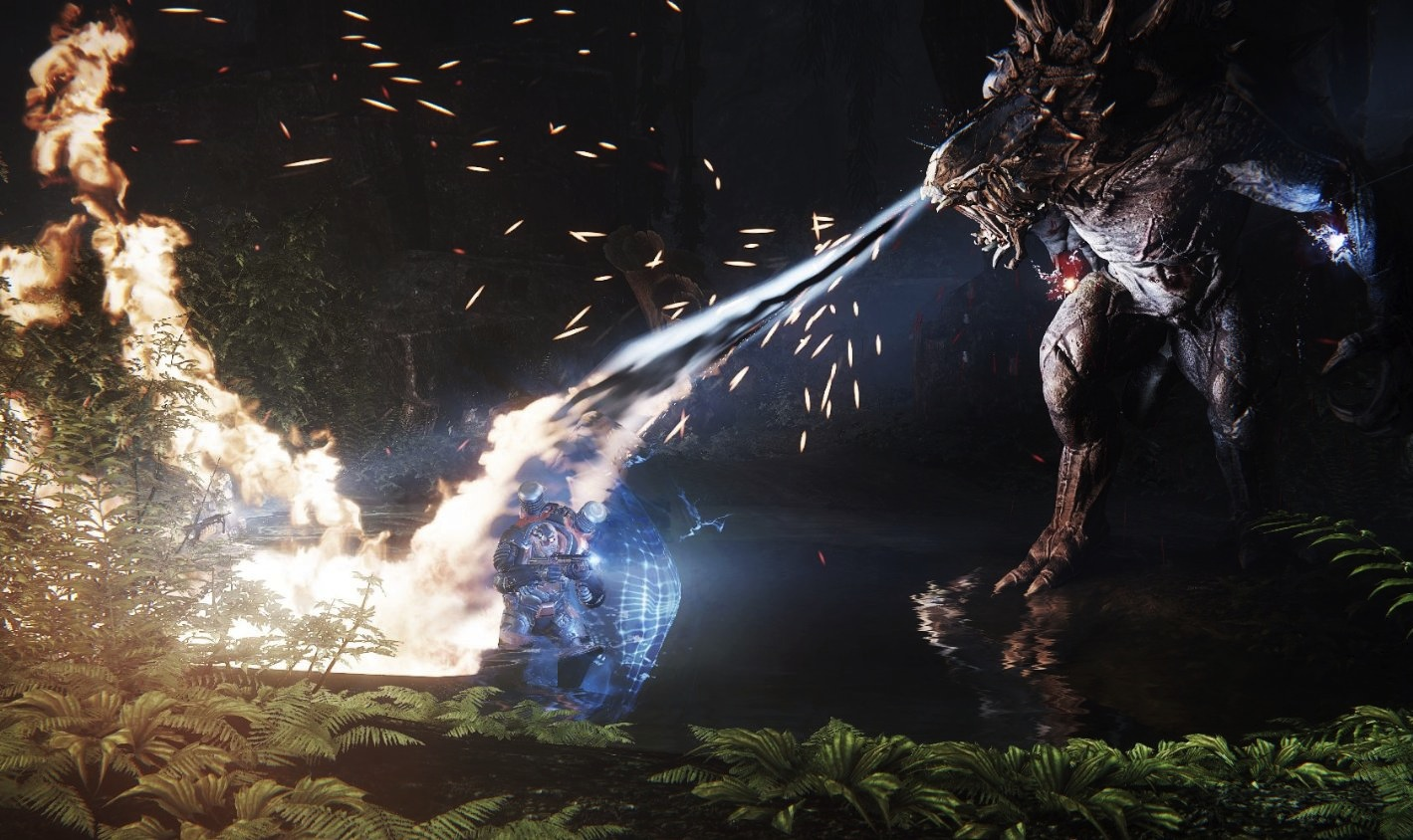 Evolve's Big Alpha releases Goliath into the wild for the first time