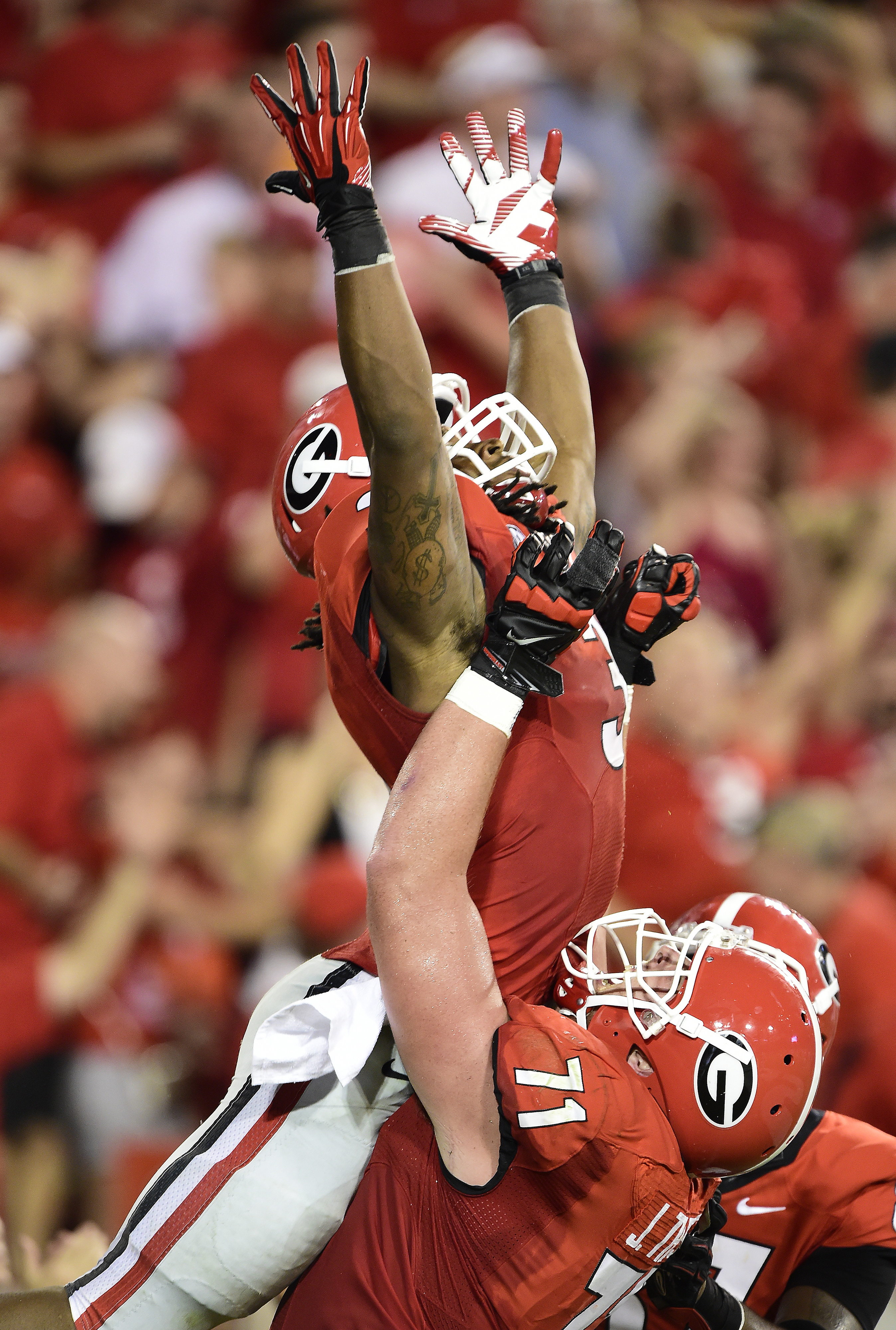 And all the Bulldog Nation Said:  Let My Gurley GO!!!!!!!!!!!