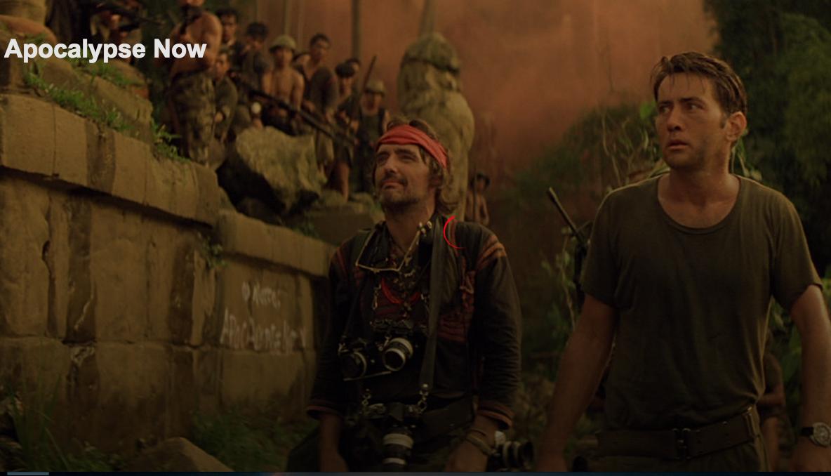 Scene from 'Apocalypse Now' on Netflix