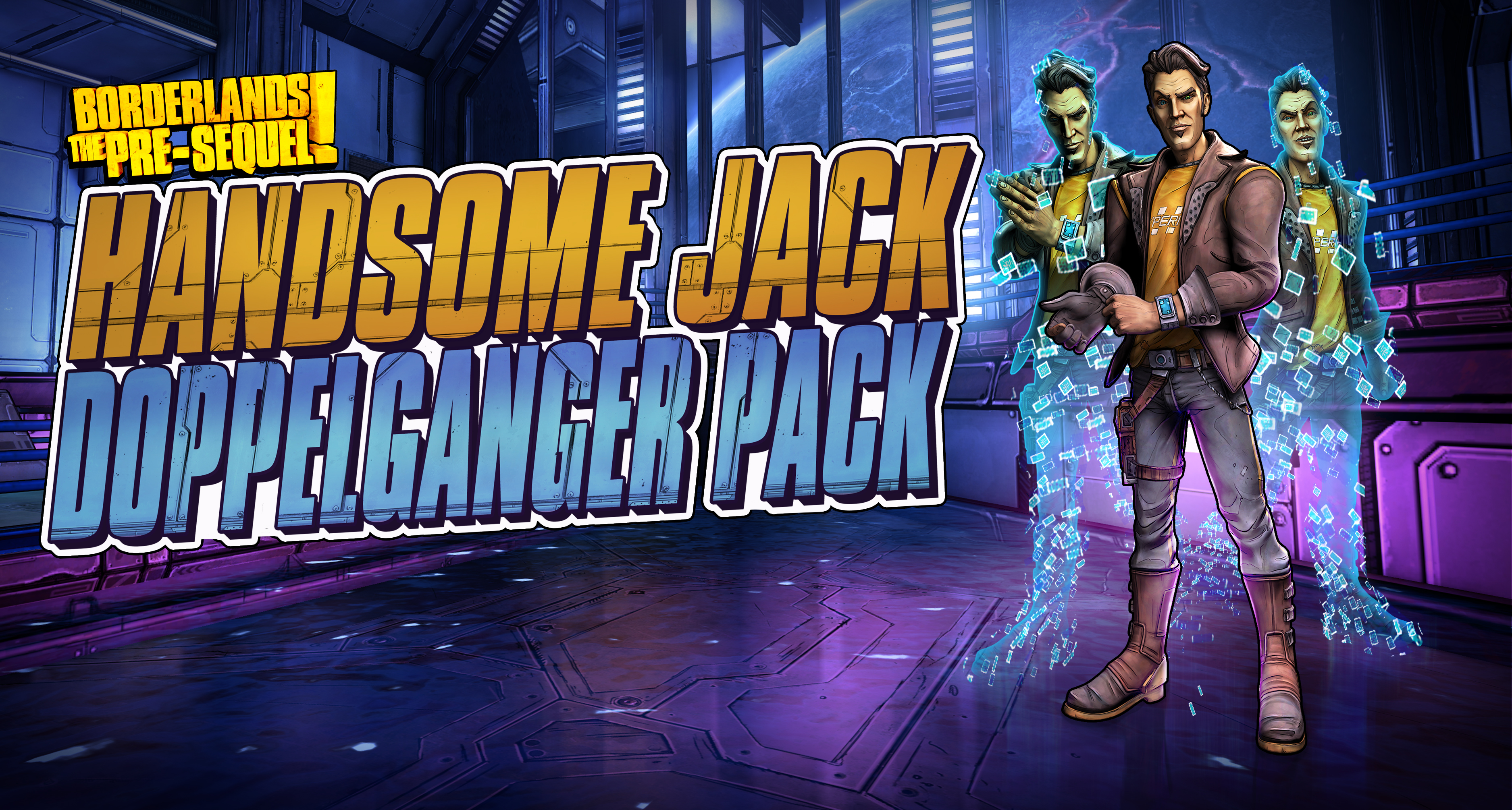 Handsome Jack coming to Borderlands: The Pre-Sequel as a playable character