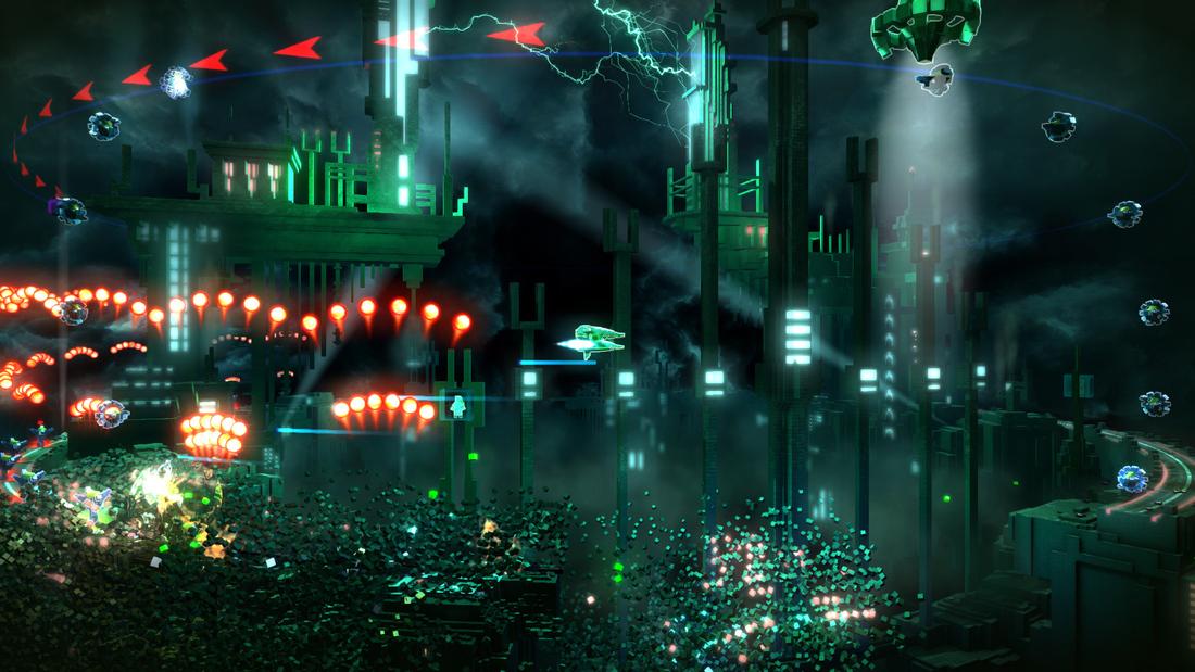 Resogun is headed to the PS Vita