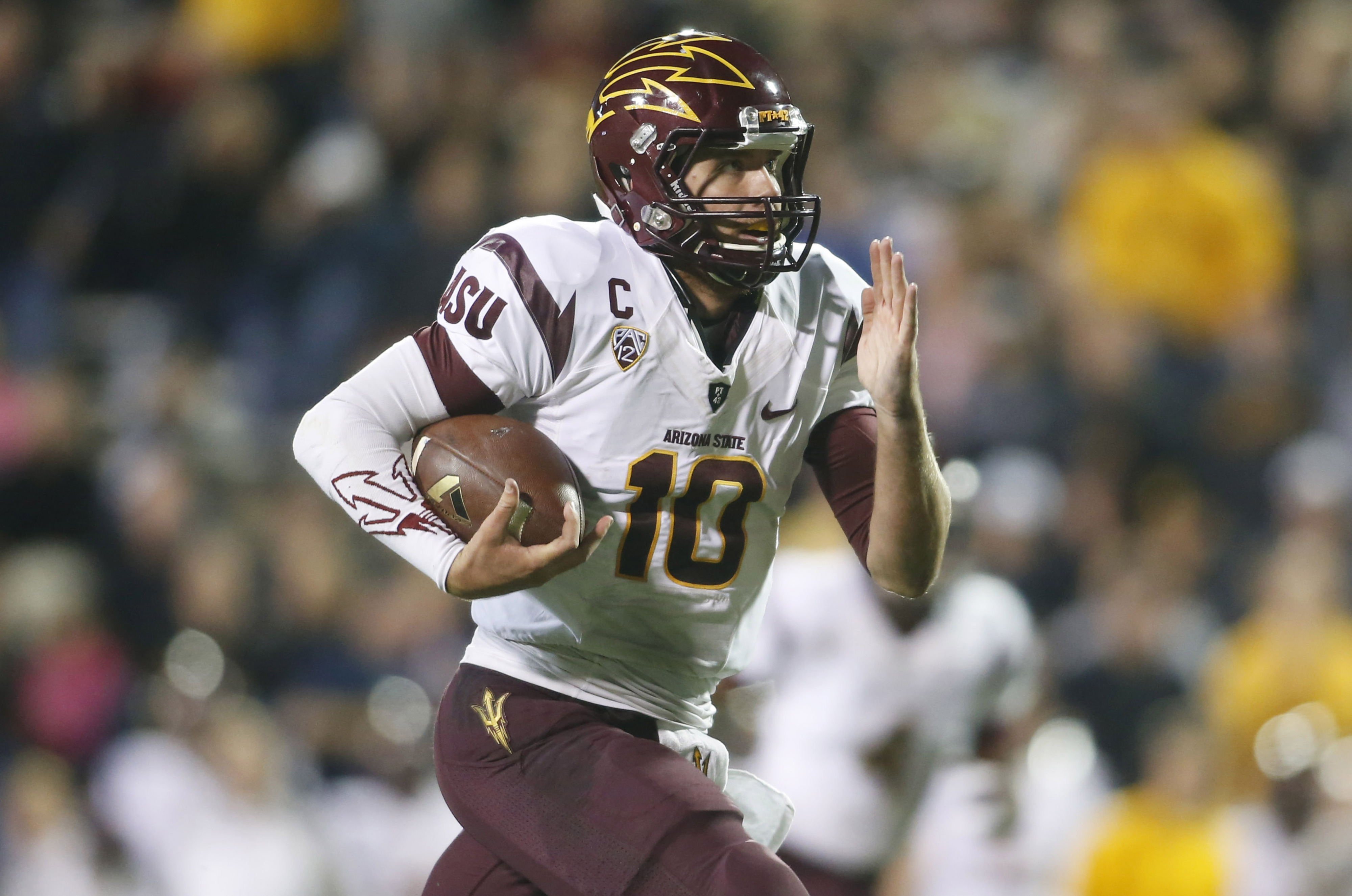 Arizona State quarterback Taylor Kelly will look to extend the Sun Devils' dominance of the Utes.