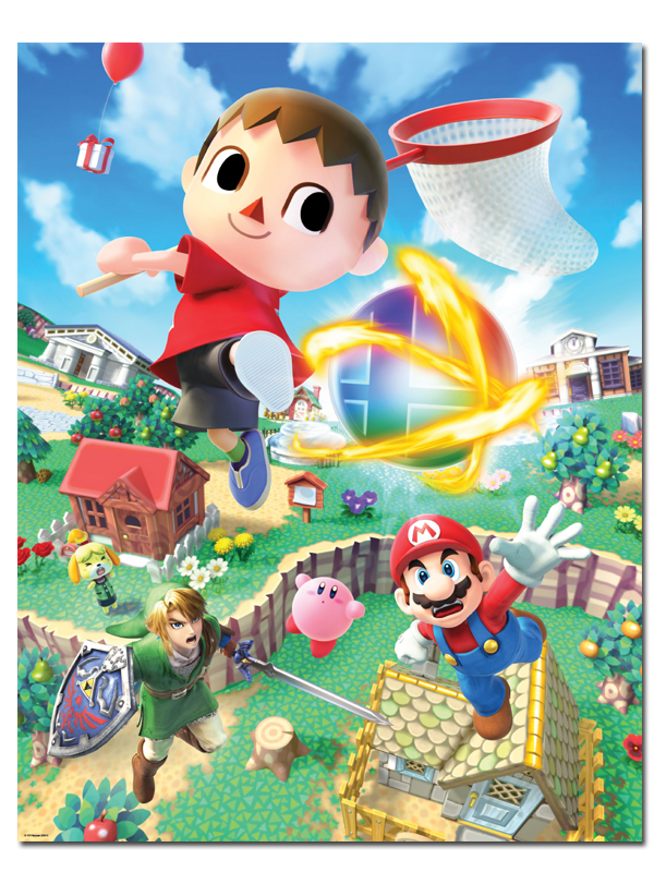 Club Nintendo offers a set of Super Smash Bros. Posters