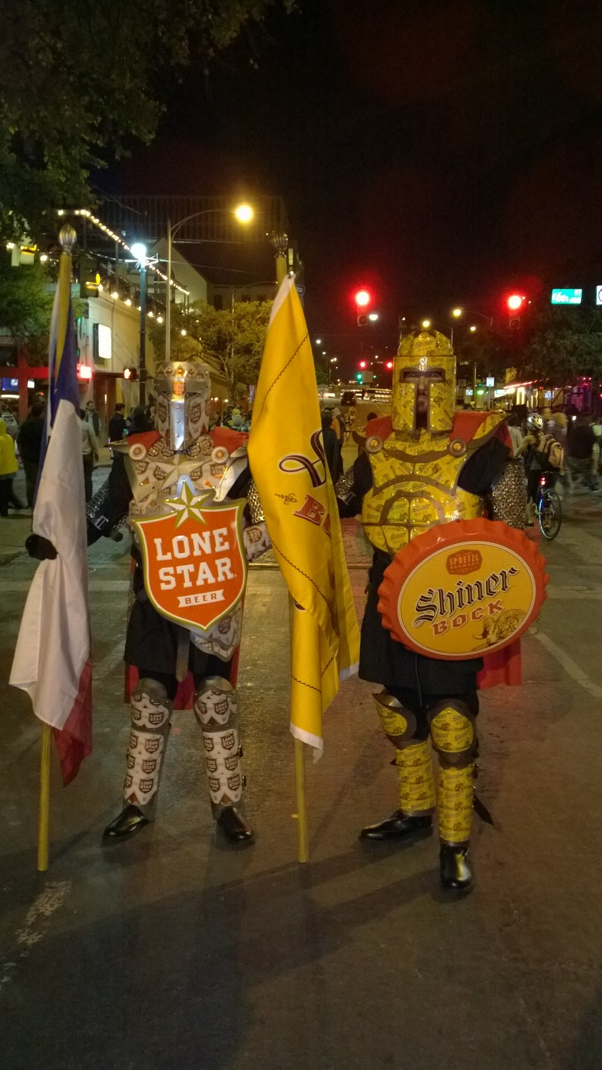 Behold The Lone Star Knight & Knight in Shiner Armor