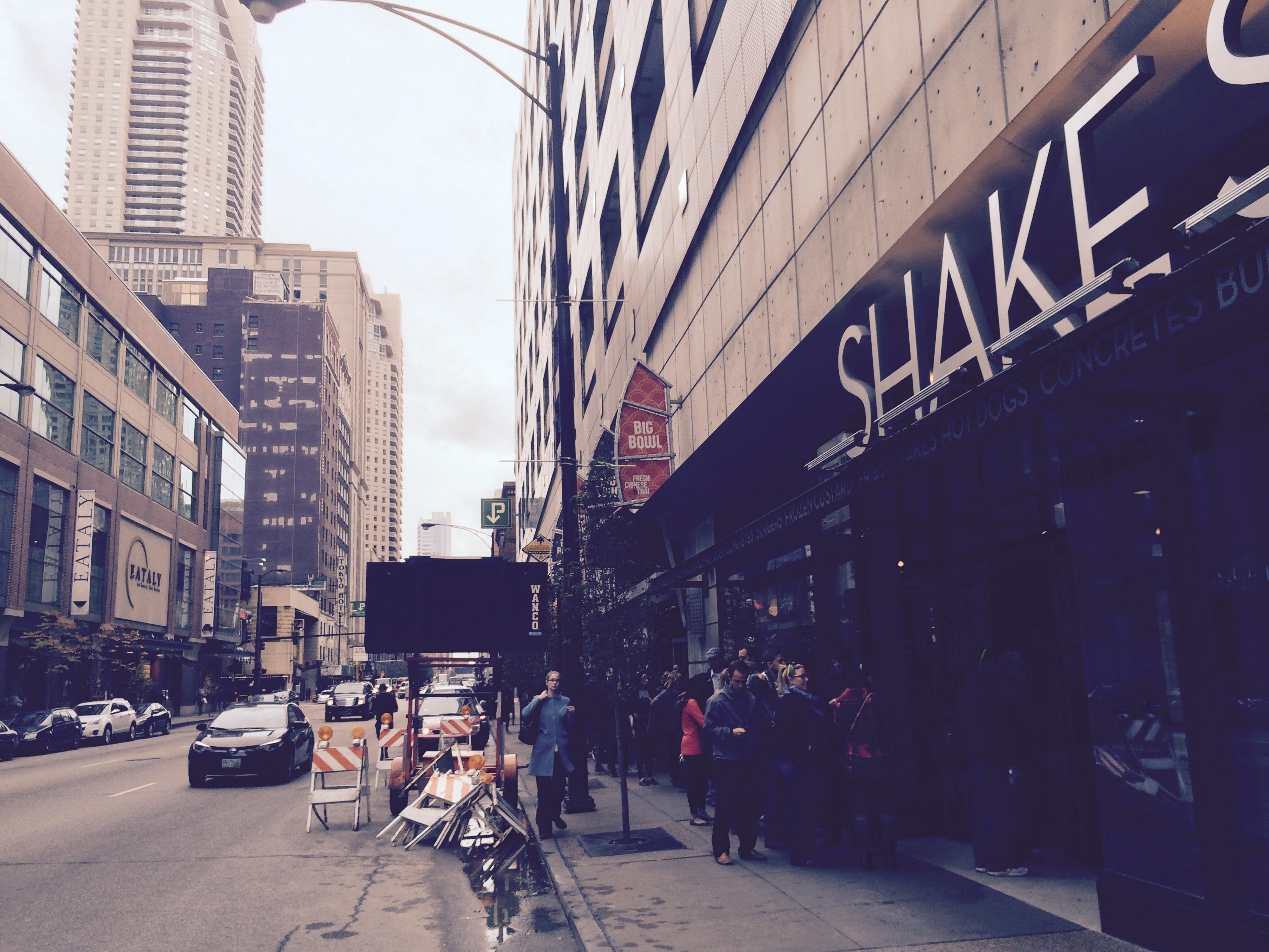 Shake Shack on Opening Day