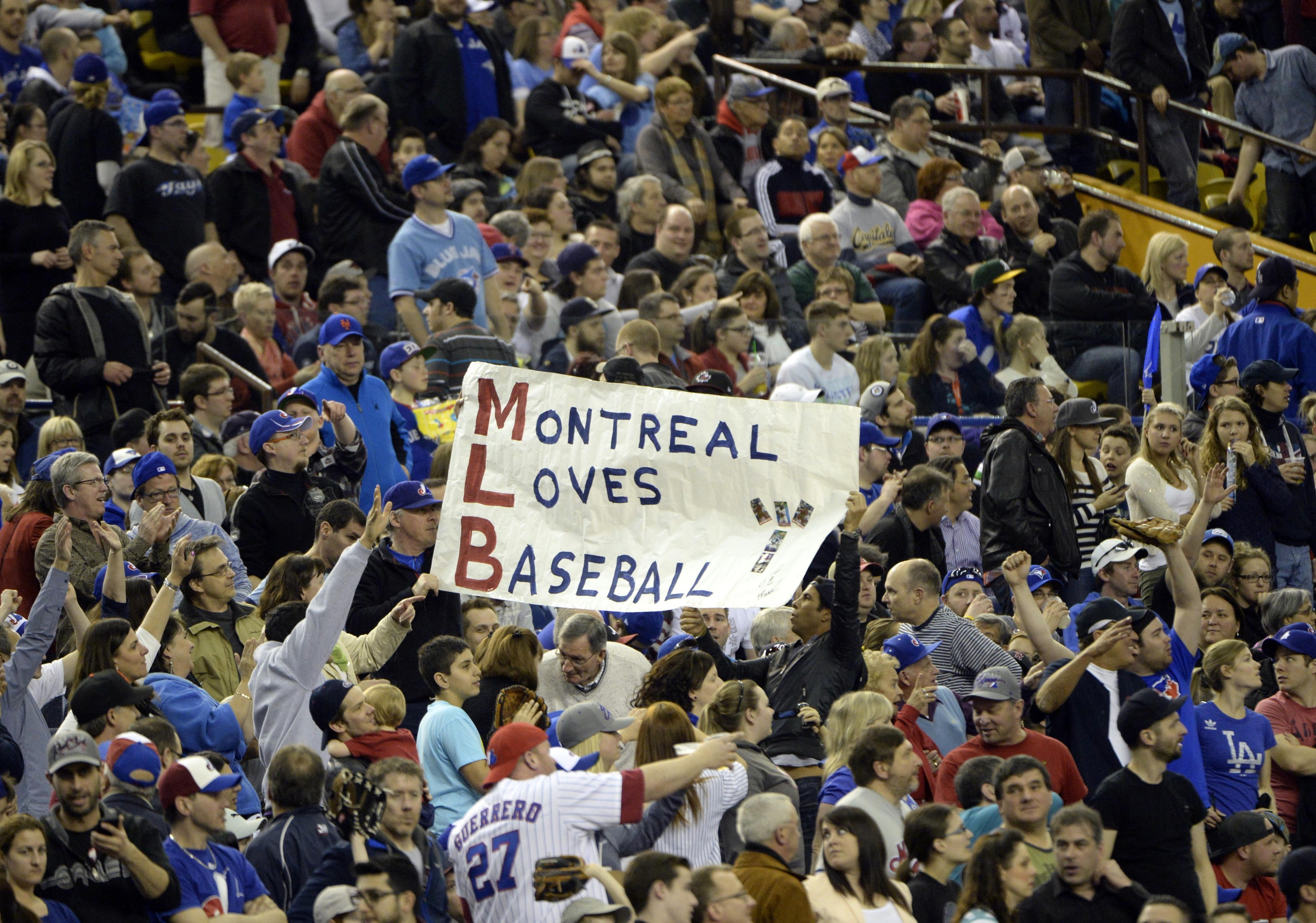 Blue Jays will host Reds in Montreal next spring