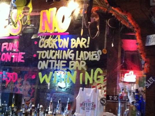 Thrillist Calls Coyote Ugly The Worst Bar on Dirty Sixth