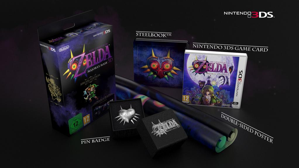 Check out Majora's Mask 3D's special edition for 3DS