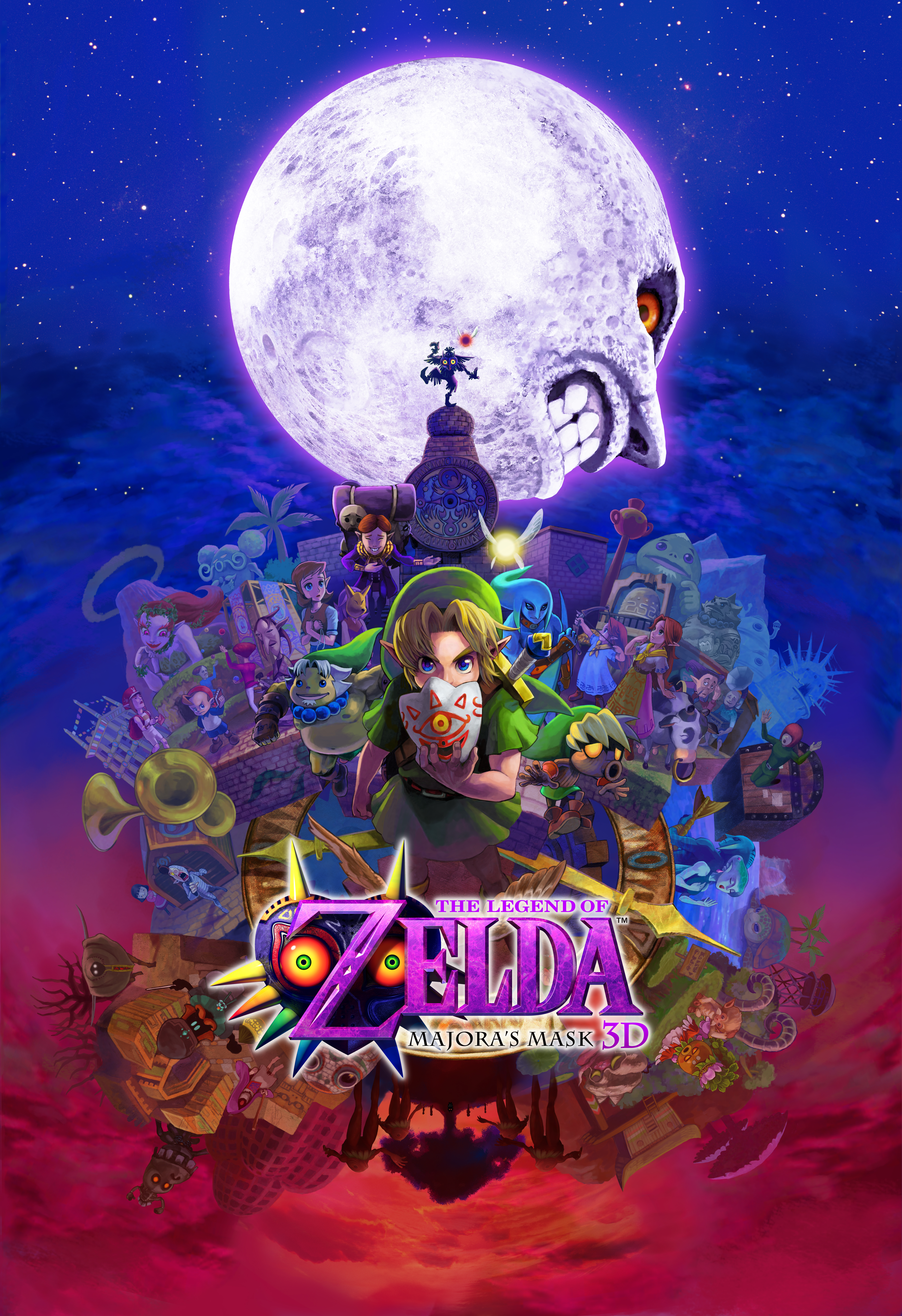 This Majora's Mask 3D poster is as stunning as it is enormous