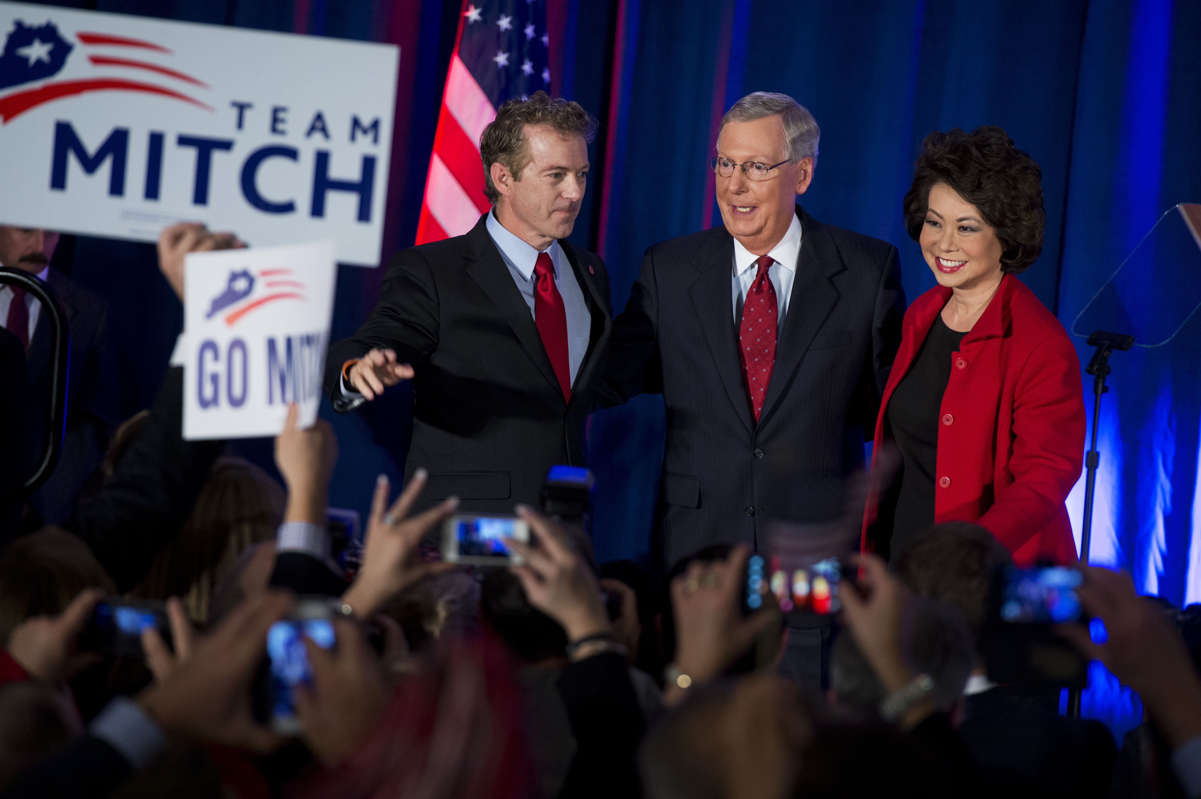 Sen. Rand Paul (R-KY) and Senate Majority Leader Mitch McConnell (R-KY) will be key players in tech policy debates in 2015.