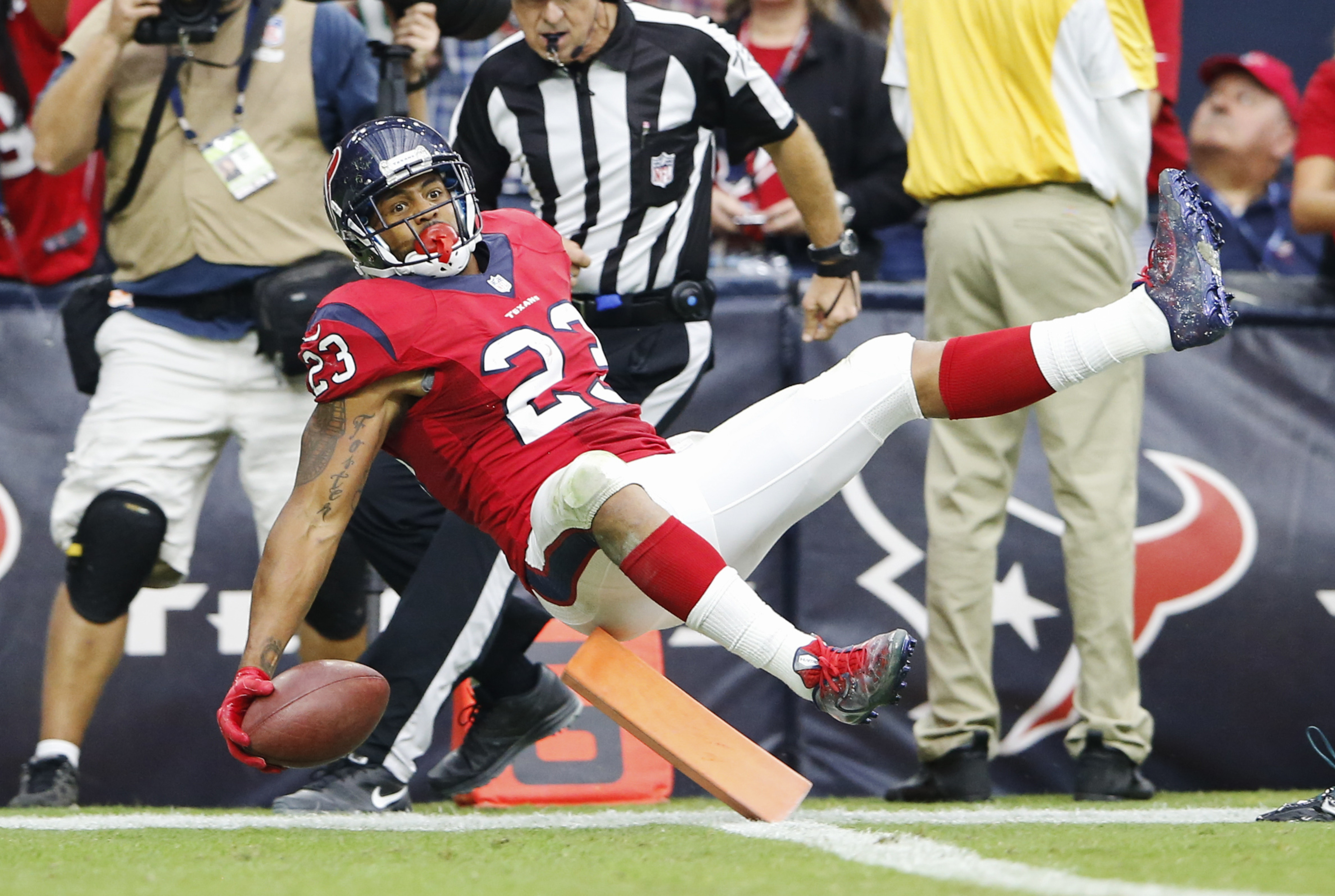 Arian's surely a major source of your optimism if you see things going well for the Texans in the second half.