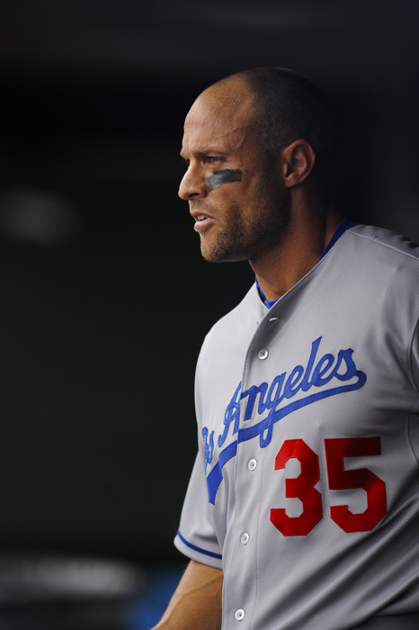 Gabe Kapler was a non-roster invitee in spring training with the Dodgers in 2011, though he didn't make the team.