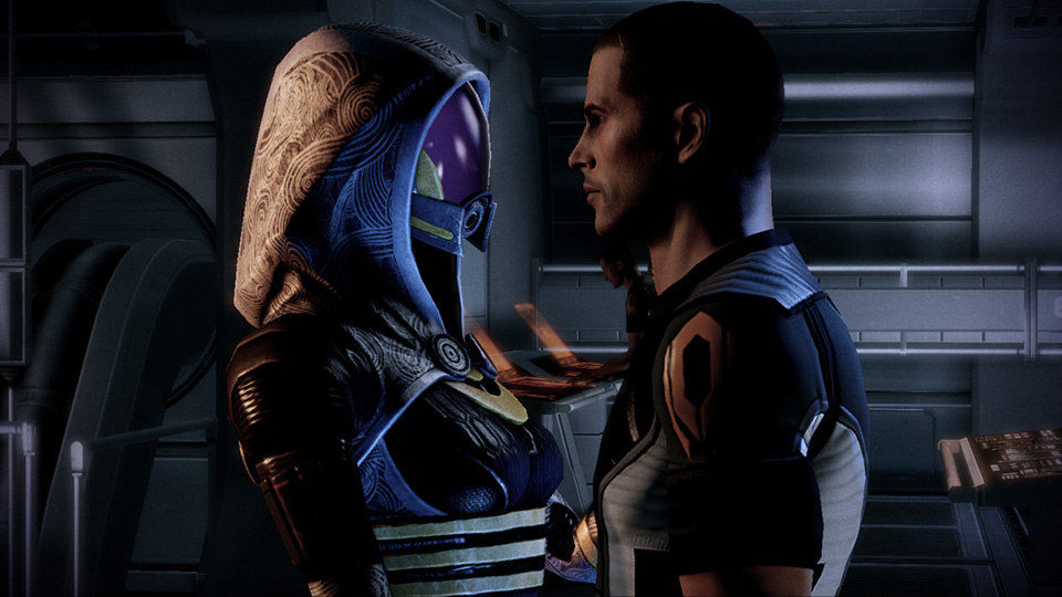Mass Effect studio helps couple get engaged