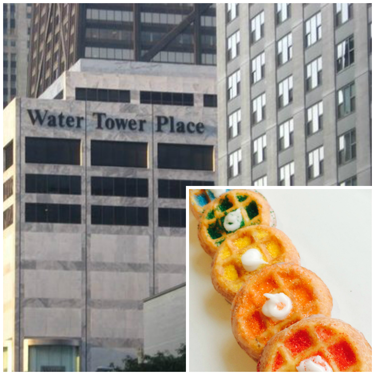 Waffles Cafe's wonuts are coming to Water Tower Place.