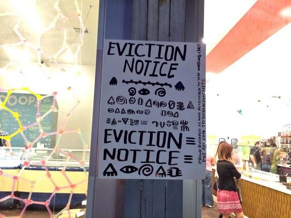 Fafke Eviction Notice