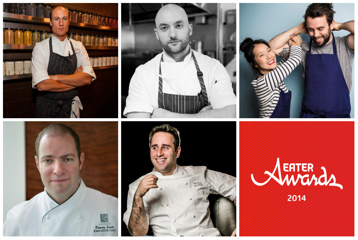 Chicago's five chef of the year nominees