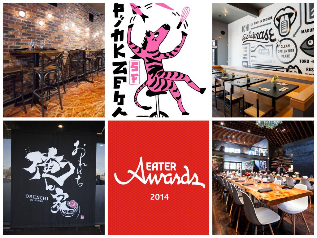 Beso, Pink Zebra, Ichi Sushi + Ni Bar, Orenchi Beyond, Lazy Bear